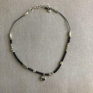 Brighton Delicate black and silver Necklace